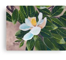 Magnolia Blossom ~ Original Oil Painting Canvas Print