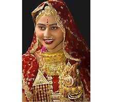 The Indian Bride Photographic Print