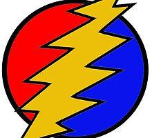Grateful Dead Bolt - The Flash 2 by highbankspro