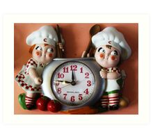 Campbell's Soup Kids Clock Art Print