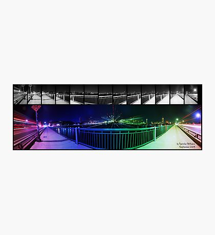 Boston panorama Photographic Print