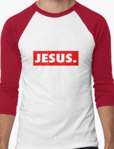 (obey) Jesus Men's Baseball ¾ T-Shirt