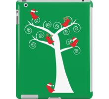 Christmas Birds in a Tree iPad Case/Skin