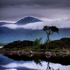Loch Na Achlaise and Black Mount by David Mould