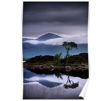 Loch Na Achlaise and Black Mount Poster