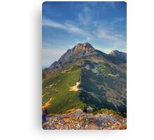 Giewont - Tatry, Poland. Canvas Print