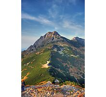 Giewont - Tatry, Poland. Photographic Print