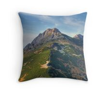 Giewont - Tatry, Poland. Throw Pillow