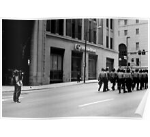 Filming a Horde of Police Officers - Pittsburgh G20 Poster
