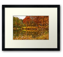 Sterling Pond Framed Print