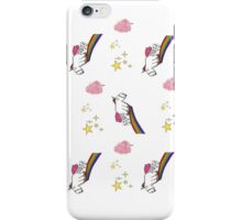 fluffy unicorn and candy floss iPhone Case/Skin