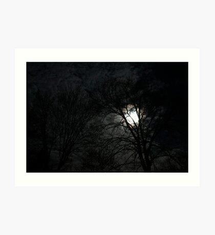 Eerie Night Art Print