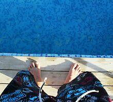 Blue & Fun & Swim by YsilumDesign
