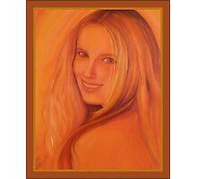 Beautiful Nati in the Sunlight Photographic Print