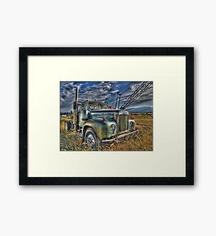 Old Mack Framed Print