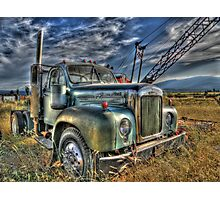 Old Mack Photographic Print