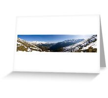 Tux Valley Greeting Card