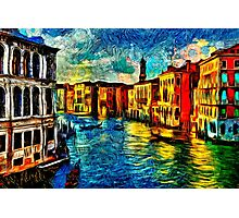 One Day In Venice Fine Art Print Photographic Print