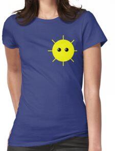 Cute Sun Womens Fitted T-Shirt