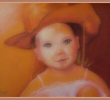 Cowgirl With Teddy Bear by Noel78