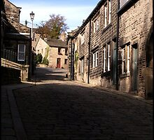 Approaching Heptonstall by Jazzdenski