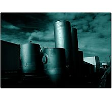 industrial view II Photographic Print