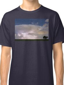 Stormy Starry Night Classic T-Shirt