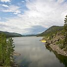 Dog Lake Between Storms by Bryan D. Spellman