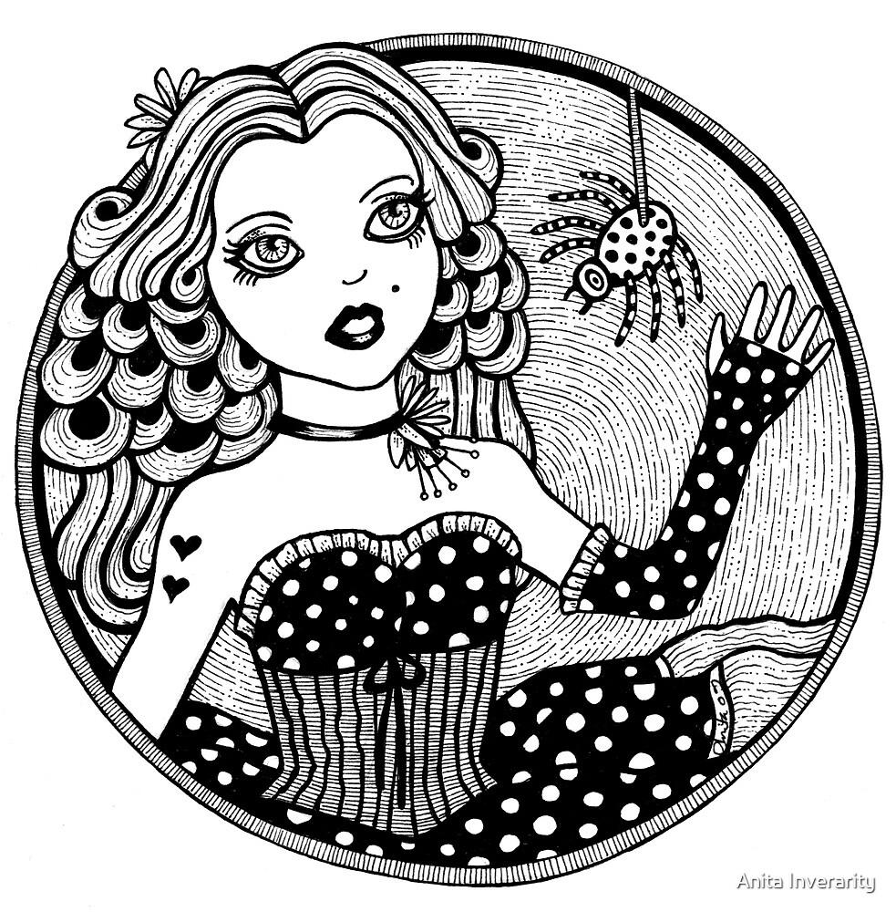 Miss Muffet by Anita Inverarity
