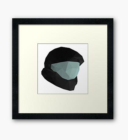 ODST Helmet  Framed Print