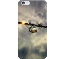 "PBY-5A Catalina ""Miss Pick Up"" iPhone Case/Skin"
