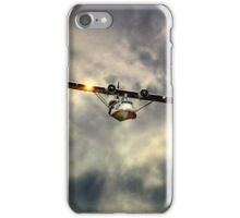 """PBY-5A Catalina """"Miss Pick Up"""" iPhone Case/Skin"""