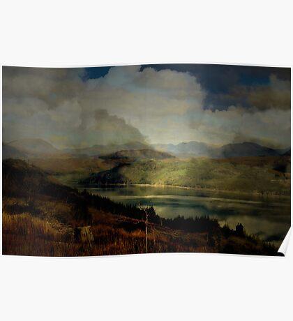The Glen: The Evening, the Castle & the Redstart. Poster