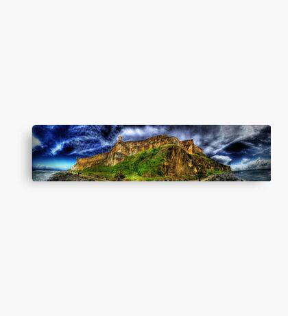 Fuerte San Felipe del Morro (El Morro Fort) Canvas Print