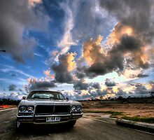 classic at sunset by gibbut