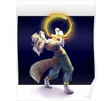 Fire Spinning Poster