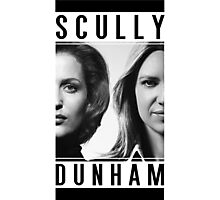 Dana Scully / Olivia Dunham Photographic Print