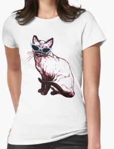Cat Eye Siamese T-Shirt T-Shirt
