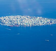 Male' - Capital of Maldives by Digital Editor .