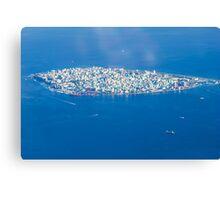 Male' - Capital of Maldives Canvas Print