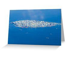 Male' - Capital of Maldives Greeting Card