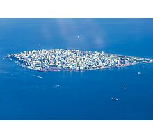 Male' - Capital of Maldives Photographic Print