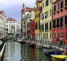 Colourful Waterways by Lynne Morris