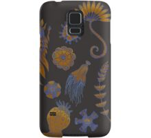 Sea Ballet in Psychedelic Colors, more apologies to Ernst Haeckel Samsung Galaxy Case/Skin