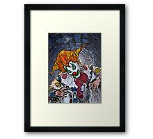 Coulrophobia Framed Print