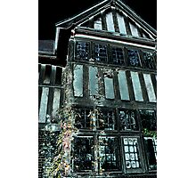 Halloween House Photographic Print