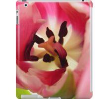Pink Tulip Macro iPad Case/Skin