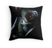 Flicker ! Throw Pillow