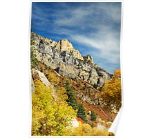 American Fork Canyon - October Colors Poster