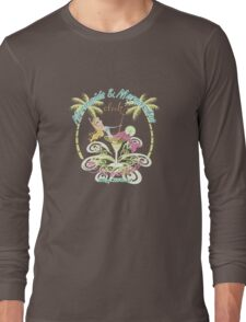 Margaritas Mermaid Long Sleeve T-Shirt